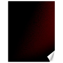 Abstract Dark Simple Red Canvas 12  X 16