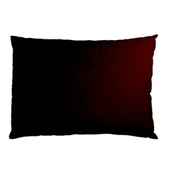 Abstract Dark Simple Red Pillow Case