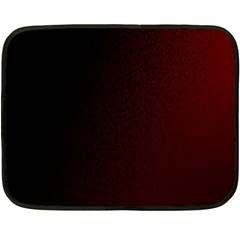 Abstract Dark Simple Red Double Sided Fleece Blanket (mini)