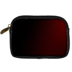 Abstract Dark Simple Red Digital Camera Cases