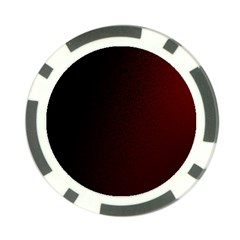 Abstract Dark Simple Red Poker Chip Card Guard (10 Pack)