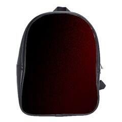 Abstract Dark Simple Red School Bags(large)