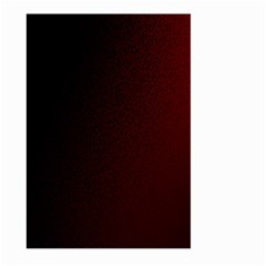 Abstract Dark Simple Red Large Garden Flag (two Sides)