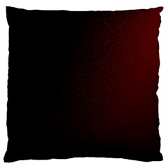 Abstract Dark Simple Red Large Cushion Case (Two Sides)
