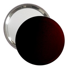 Abstract Dark Simple Red 3  Handbag Mirrors
