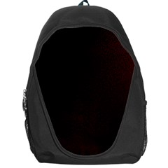 Abstract Dark Simple Red Backpack Bag