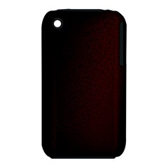 Abstract Dark Simple Red Iphone 3s/3gs