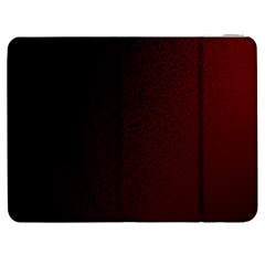 Abstract Dark Simple Red Samsung Galaxy Tab 7  P1000 Flip Case