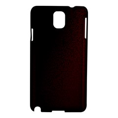 Abstract Dark Simple Red Samsung Galaxy Note 3 N9005 Hardshell Case