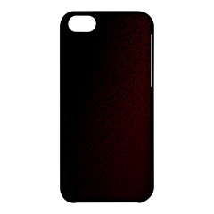 Abstract Dark Simple Red Apple iPhone 5C Hardshell Case