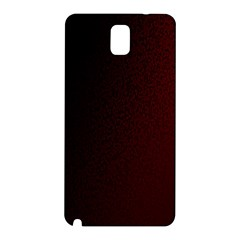 Abstract Dark Simple Red Samsung Galaxy Note 3 N9005 Hardshell Back Case