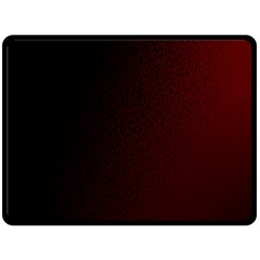 Abstract Dark Simple Red Double Sided Fleece Blanket (Large)