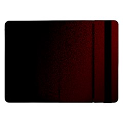 Abstract Dark Simple Red Samsung Galaxy Tab Pro 12.2  Flip Case