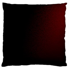 Abstract Dark Simple Red Large Flano Cushion Case (Two Sides)