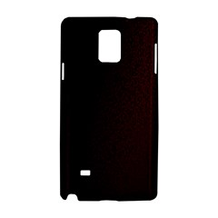 Abstract Dark Simple Red Samsung Galaxy Note 4 Hardshell Case