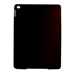 Abstract Dark Simple Red iPad Air 2 Hardshell Cases