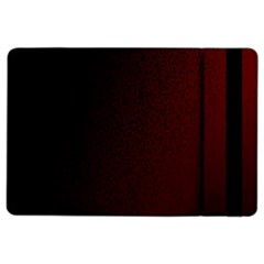 Abstract Dark Simple Red iPad Air 2 Flip
