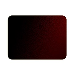 Abstract Dark Simple Red Double Sided Flano Blanket (Mini)