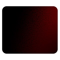 Abstract Dark Simple Red Double Sided Flano Blanket (small)