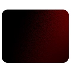 Abstract Dark Simple Red Double Sided Flano Blanket (medium)