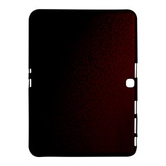 Abstract Dark Simple Red Samsung Galaxy Tab 4 (10.1 ) Hardshell Case