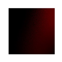 Abstract Dark Simple Red Small Satin Scarf (Square)