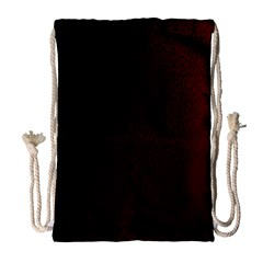 Abstract Dark Simple Red Drawstring Bag (Large)