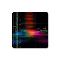 Abstract Binary Square Magnet
