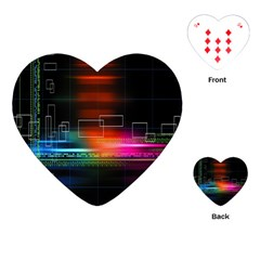 Abstract Binary Playing Cards (heart)