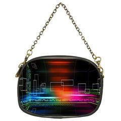 Abstract Binary Chain Purses (two Sides)