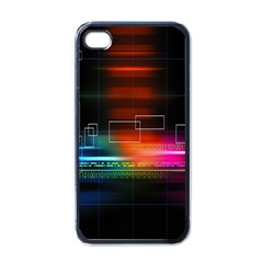 Abstract Binary Apple iPhone 4 Case (Black)