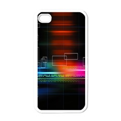 Abstract Binary Apple Iphone 4 Case (white)