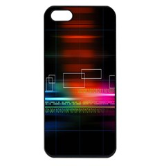 Abstract Binary Apple iPhone 5 Seamless Case (Black)