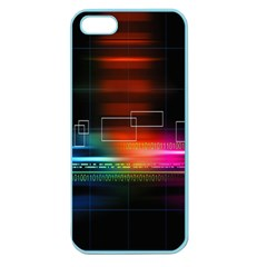 Abstract Binary Apple Seamless iPhone 5 Case (Color)