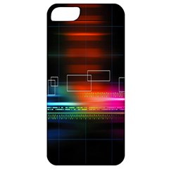 Abstract Binary Apple iPhone 5 Classic Hardshell Case