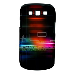 Abstract Binary Samsung Galaxy S III Classic Hardshell Case (PC+Silicone)