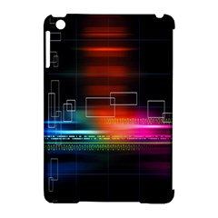 Abstract Binary Apple iPad Mini Hardshell Case (Compatible with Smart Cover)
