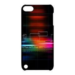 Abstract Binary Apple iPod Touch 5 Hardshell Case with Stand