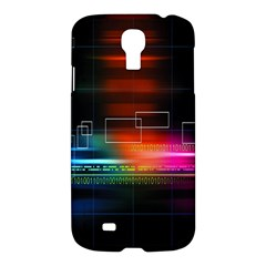 Abstract Binary Samsung Galaxy S4 I9500/I9505 Hardshell Case
