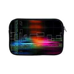 Abstract Binary Apple Ipad Mini Zipper Cases