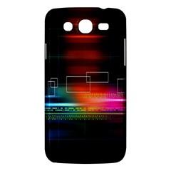 Abstract Binary Samsung Galaxy Mega 5 8 I9152 Hardshell Case