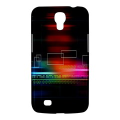 Abstract Binary Samsung Galaxy Mega 6.3  I9200 Hardshell Case