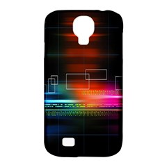 Abstract Binary Samsung Galaxy S4 Classic Hardshell Case (PC+Silicone)