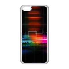 Abstract Binary Apple iPhone 5C Seamless Case (White)