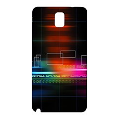 Abstract Binary Samsung Galaxy Note 3 N9005 Hardshell Back Case