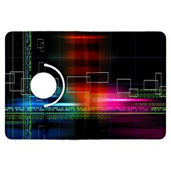 Abstract Binary Kindle Fire HDX Flip 360 Case