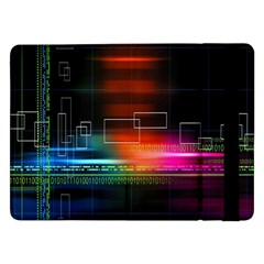 Abstract Binary Samsung Galaxy Tab Pro 12.2  Flip Case