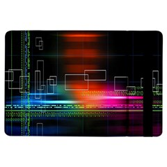 Abstract Binary iPad Air Flip