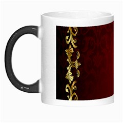 3d Red Abstract Pattern Morph Mugs