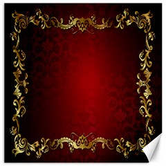 3d Red Abstract Pattern Canvas 20  X 20